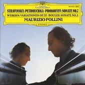 06. Maurizio Pollini. Debut recital – Strawinsky, Prokofiev, Webern, Boulez (1972-78)