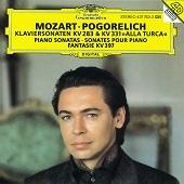 10. Ivo Pogorelich. Mozart – Piano sonatas KV283 & KV331, Fantasy KV397 (1995)