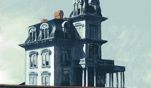 La casa sulla ferrovia, Museum of Modern Art, New York