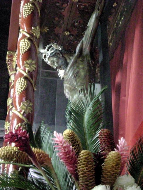 Il Cristo che dalla prua di una nave a Lepanto finì in una chiesa di Mariquita
