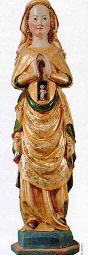 Arte tedesca, Maria che reca nel ventre il bambino