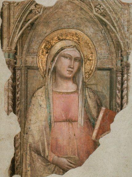 Taddeo Gaddi, Madonna del parto, Chiesa di San Francesco di Paola, Firenze