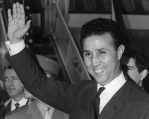 Il primo presidente algerino Ben Bella nel 1965.