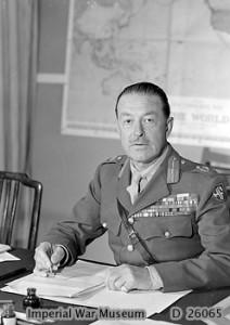 Il generale britannico Harold Alexander.