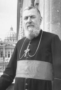 Il cardinale Tisserant.