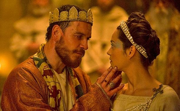 Michael Fassbender con la sua Lady Macbeth Marion Cotillard