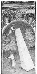 Giusto de' Menabuoi, Il miracolo della torre (1382) Padova, Sant'Antonio
