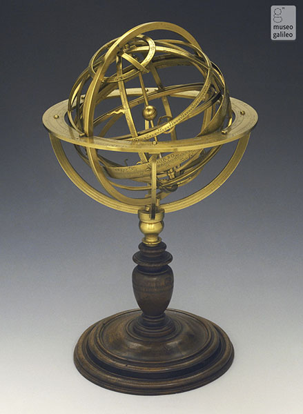 Sfera armillare, Museo Galileo, Firenze