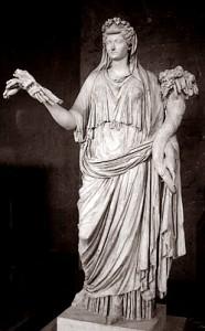 Statua raffigurante Livia Drusilla