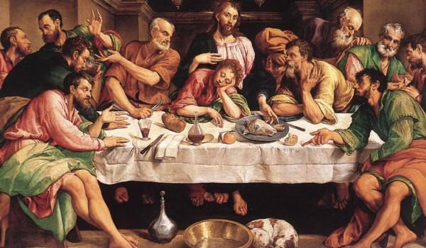 1_Jacopo Bassano, Ultima cena, Galleria Borghese, Roma