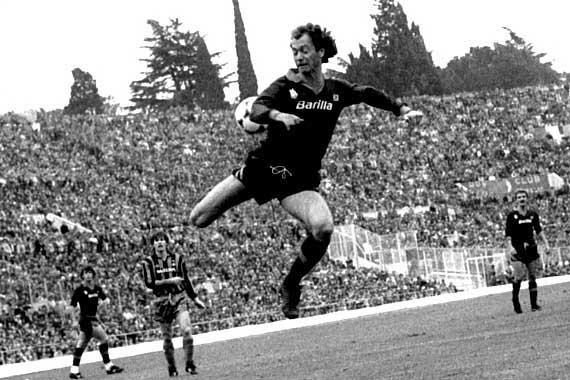 Paulo Roberto Falcão ha militato nella Roma dal 1980 al 1985