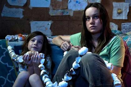 Brie Larson e il piccolo Jacob Tremblay: bravissimi