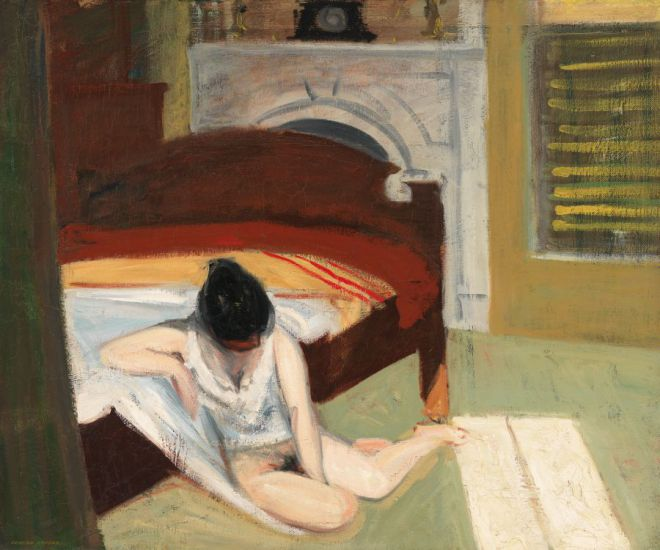 Edward Hopper-  Summer-interior-1909