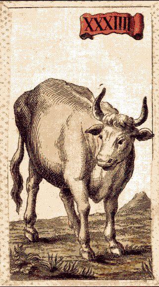 Il Toro nelle Minchiate fiorentine