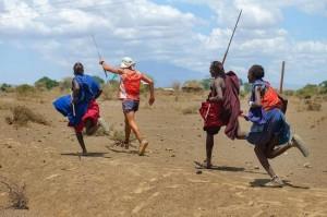 Con i Masai in Tanzania verso il Kilimangiaro.