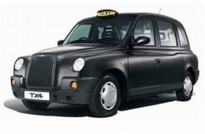 Tipico Taxi Londinese: avvistati spesso nelle zone limitrofe a Londra