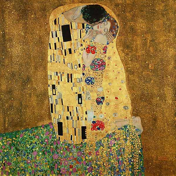 Il bacio, Österreichische Galerie Belvedere, Vienna