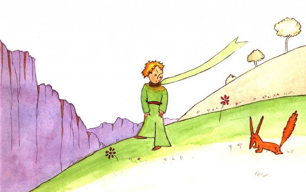"""L'episodio della volpe appare ne """"Il piccolo principe"""" (1943) di Antoine de Saint-Exupéry."""
