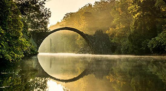 Rakotz brücke, Germania