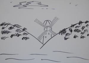 Windmill at Ocean Beach