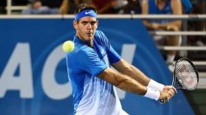 Il tennista al torneo vinto di Del Ray Beach.