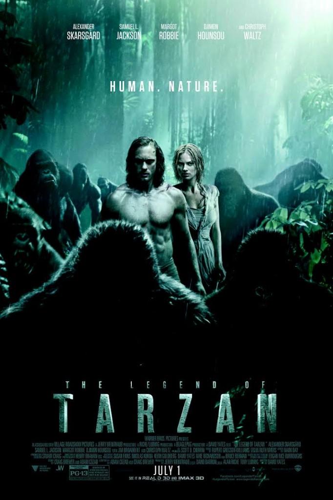 tarzan legend poster