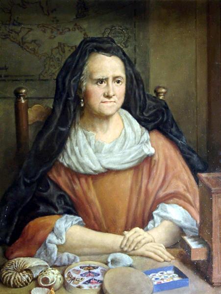 Artista sconosciuto, Maria Sibilla Merian
