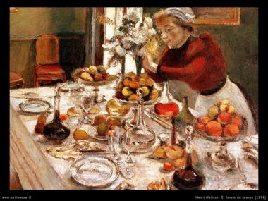 Matisse ce lo ha insegnato: la tavola imbandita è un'opera d'arte