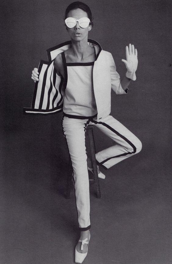 André Courrèges, Completo-pantaloni, 1965