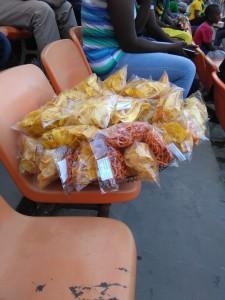 Snack da stadio.