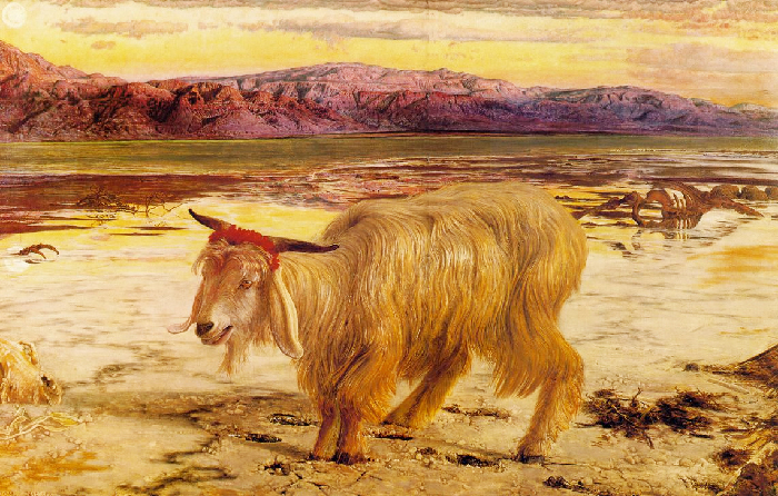 William Holman Hunt, Il capro espiatorio, City Art Gallery, Manchester