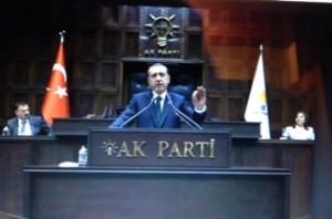 Il Presidente turco Erdogan fondatore e leader dell'AKP