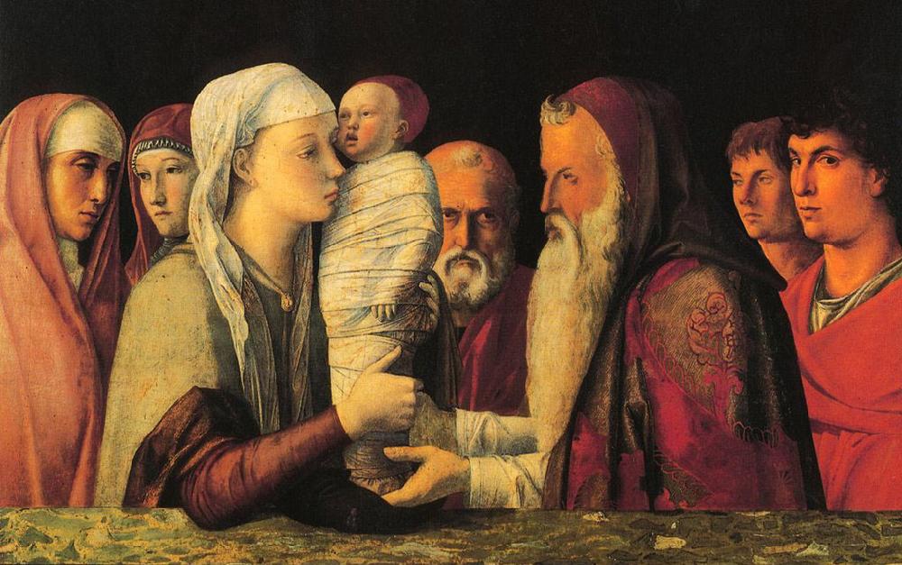 Giovanni Bellini, Presentazione di Gesù al tempio,  Fondazione Querini Stampalia , Venezia