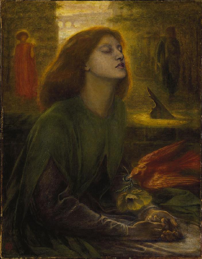 Beata Beatrix, Tate gallery Londra