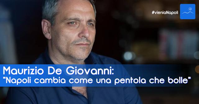 Maurizio De Giovanni Vieni a Napoli