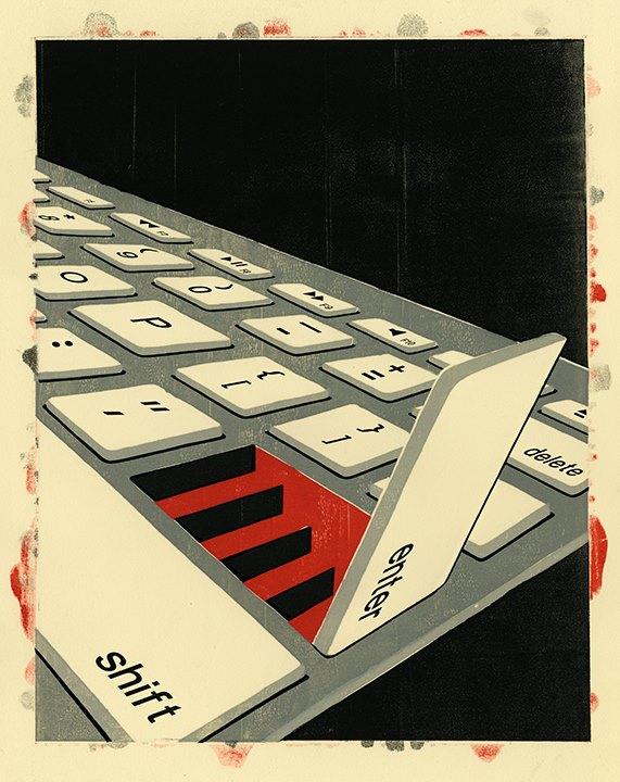 enter tastiera scale