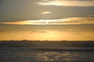 Ocean, sun, and wind