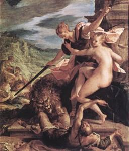 Trionfo della Verità di Hans von Aachen,  Monaco, Alte Pinakothek