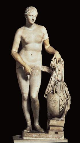 Prassitele, Afrodite di Cnido,Musei vaticani