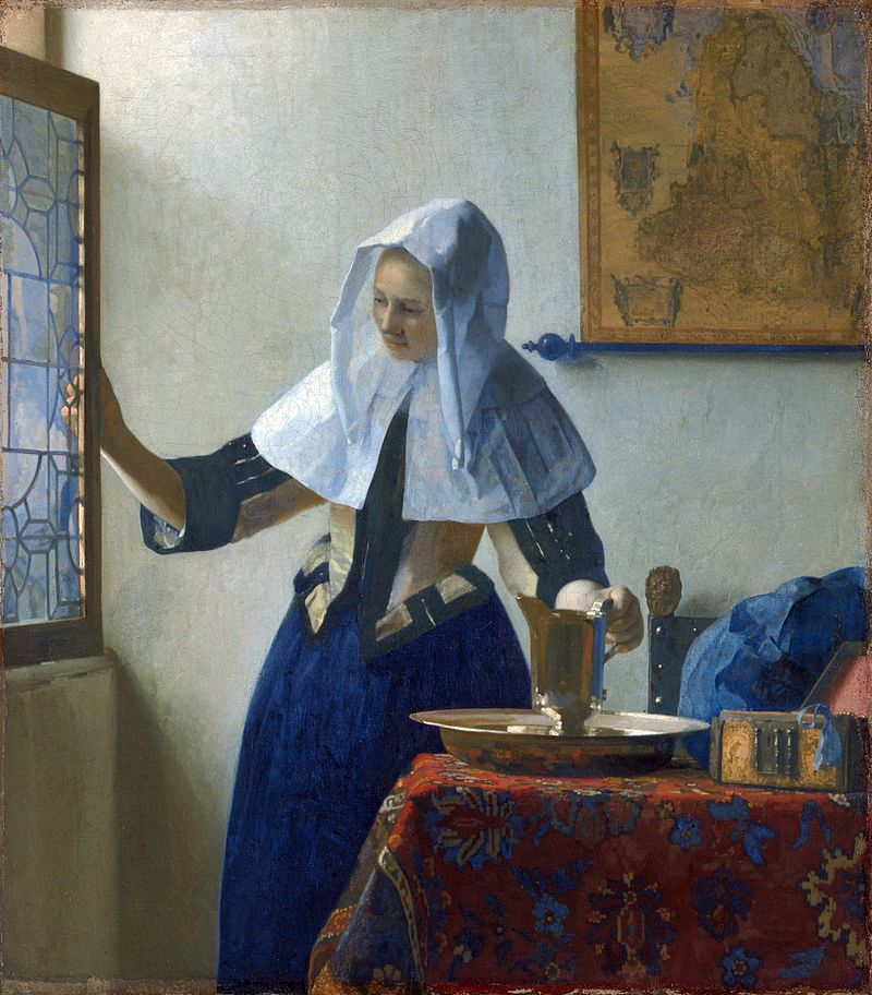 Donna con brocca d'acqua, Metropolitan Museum of Art, New York