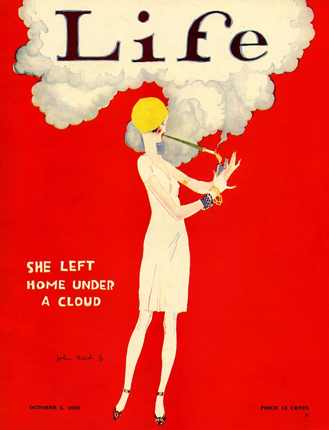 La garçonne, Life, 1925