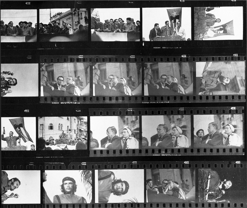 Negativi degli scatti della commemorazione del  5 Marzo 1960