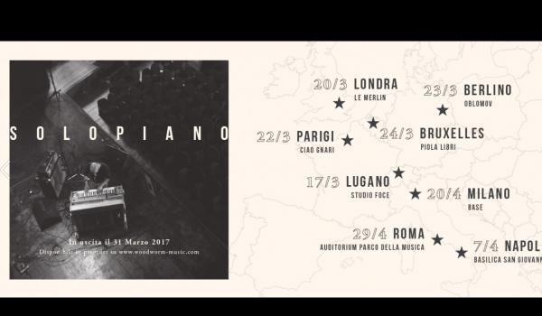 Giovanni Truppi - Solopiano Tour