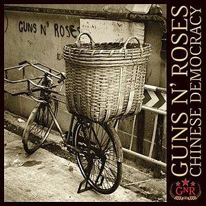 """Chinese Democrazy"" ultimo disco dei Guns N' Roses."