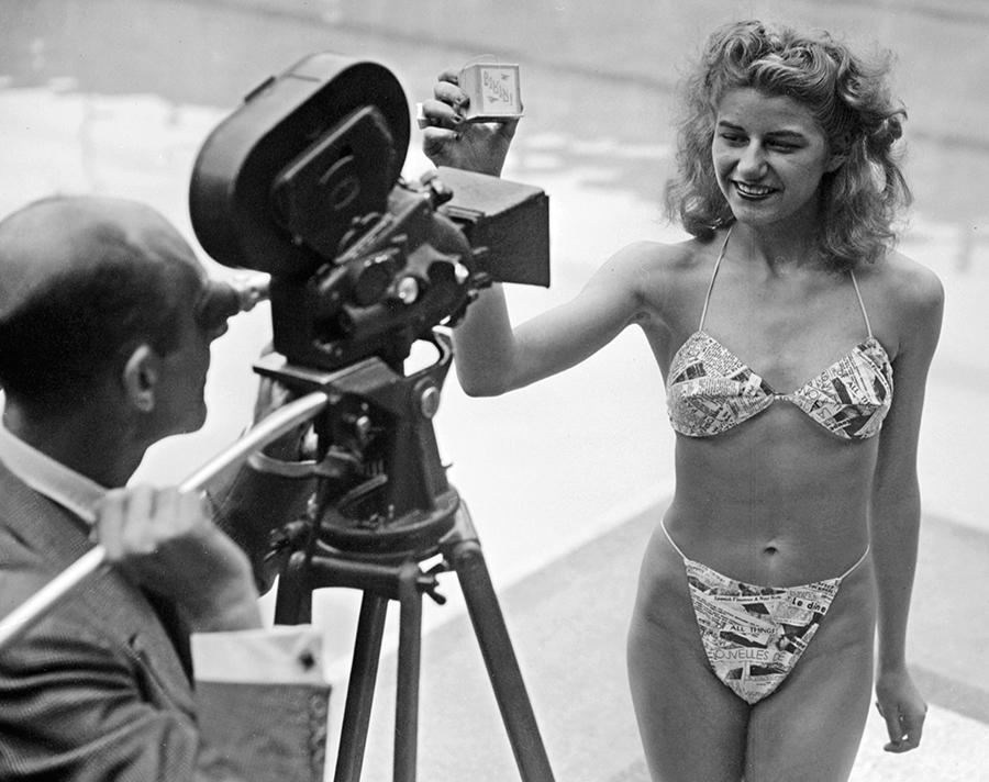 Il primo bikini, 1946