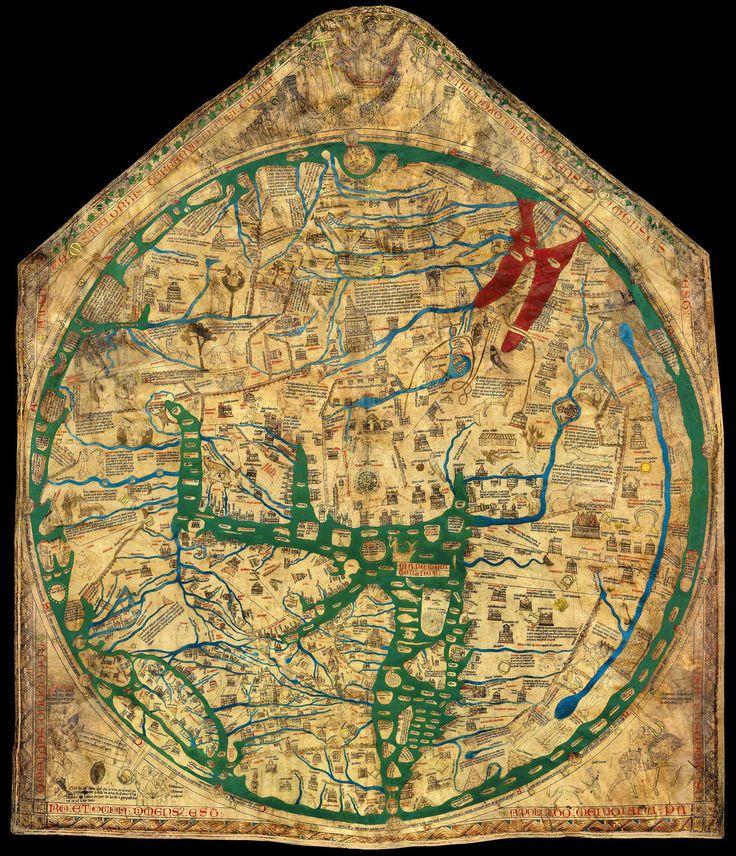 La mappa di Hereford