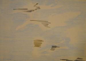 Running South Dakota sky