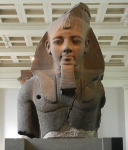 Busto di Ramses II, British Museum, Londra