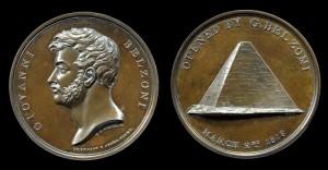Medaglia commemorativa di Belzoni