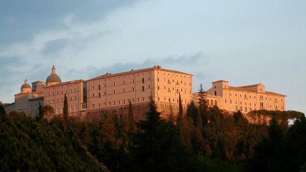 Abbazia di Montecassino, nel Lazio.